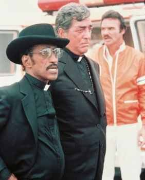Sammy Davis Jr, Dean Martin, and Burt Reynolds in Cannonball Run